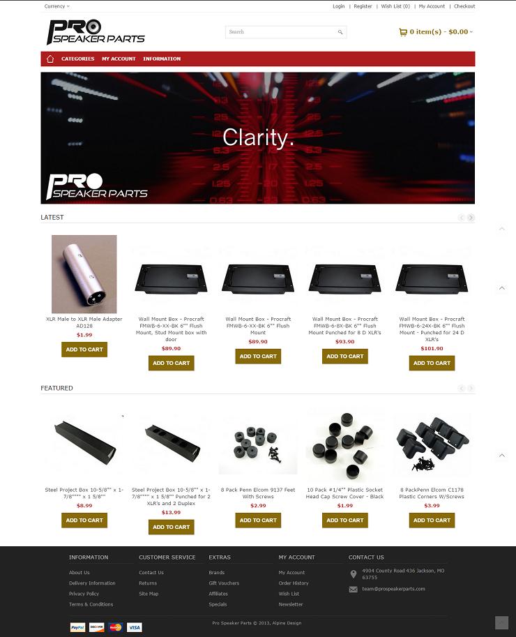 Pro Speaker Parts